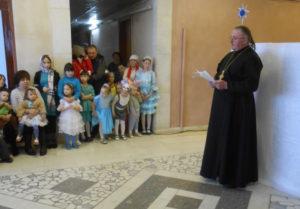 В деревне Гавриловка Воткинского района состоялся детский утренник